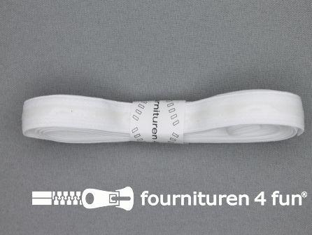 Siliconen elastiek 13mm wit