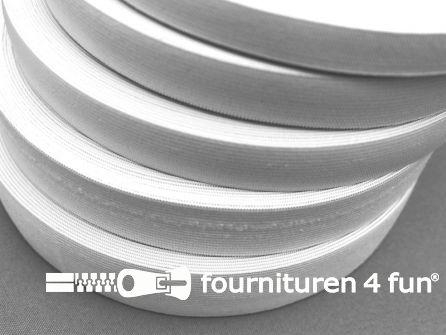 Band elastiek 22mm soepel rol wit 25 meter