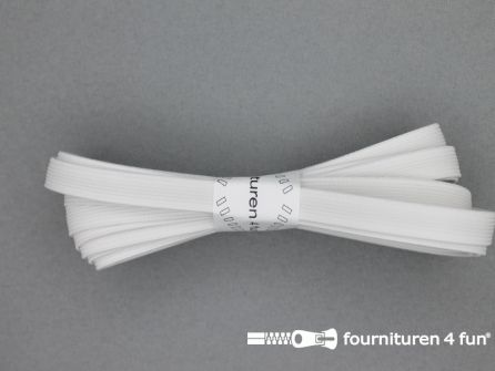 Band elastiek 8mm stevig wit 3 meter