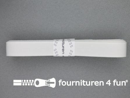 Band elastiek 15mm stevig wit 2 meter