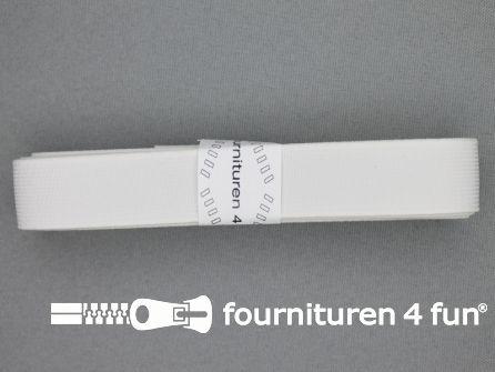Band elastiek 20mm stevig wit 2 meter