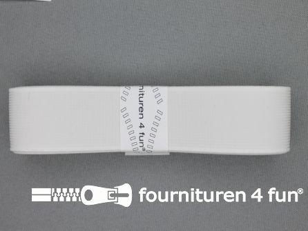 Band elastiek 30mm stevig wit 2 meter