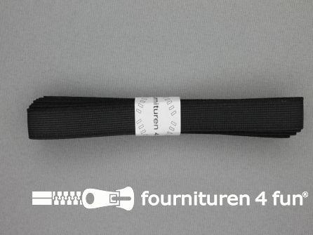 Band elastiek 15mm stevig zwart 2 meter