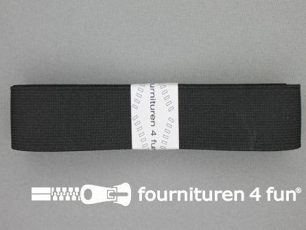 Band elastiek 30mm stevig zwart 2 meter