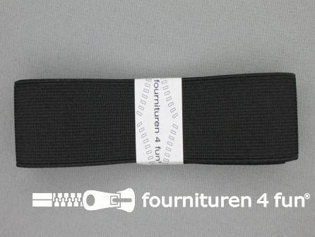 Band elastiek 40mm stevig zwart 1 meter