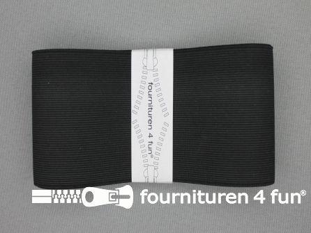 Band elastiek 70mm stevig zwart 1 meter