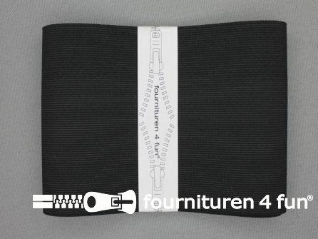Band elastiek 100mm stevig zwart 1 meter