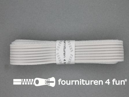 Rimpel elastiek 25mm wit