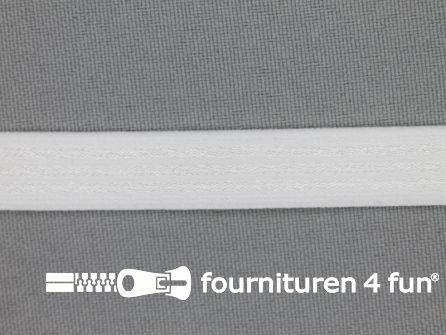Schouderband elastiek 12mm wit
