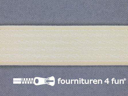 Schouderband elastiek 19mm beige