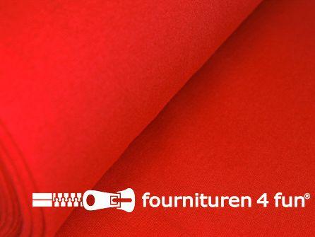 Fijn boordstof 35cm rood