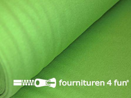 Fijn boordstof 35cm appeltjes groen