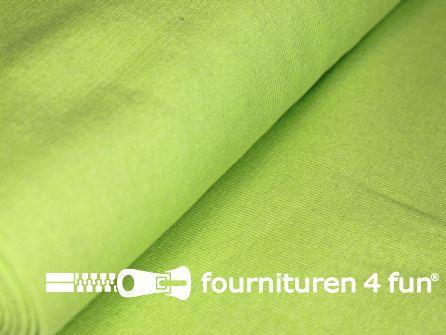 Fijn boordstof 35cm pistache-lime groen