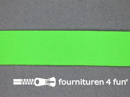 Nylon keperband 20mm neon groen