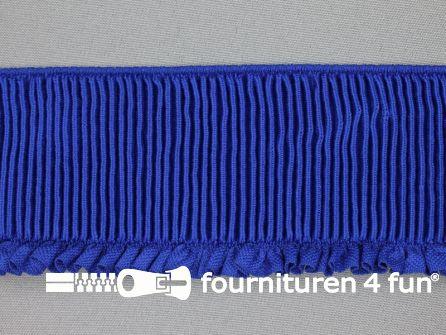 Boordelastiek 60mm kobalt blauw