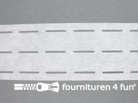 Stansband/Plak-en-vouw-om/Perfoband 25mm wit
