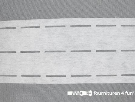 Stansband/Plak-en-vouw-om/Perfoband 30mm wit