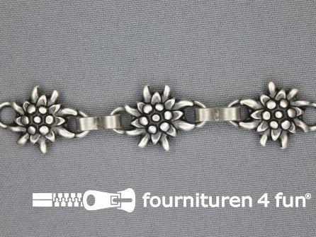 Landhuis versiering 18mm edelweiss