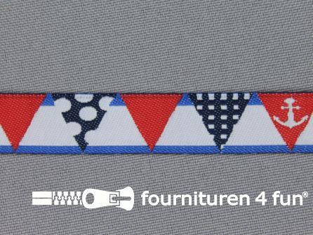 Kinderband 14mm anker - vlaggenlijn