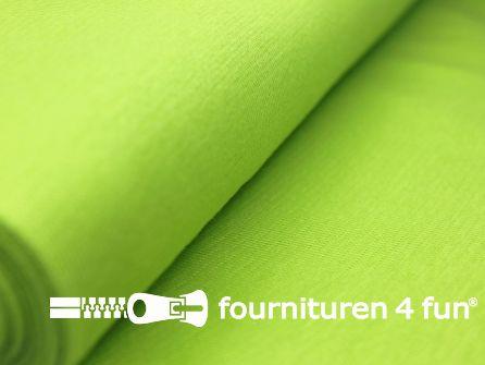 Fijn boordstof 35cm fel lime groen