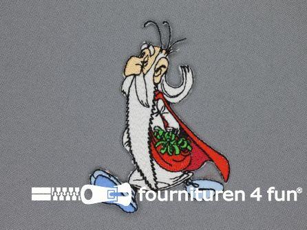 Asterix en Obelix applicatie 85x62mm Panoramix