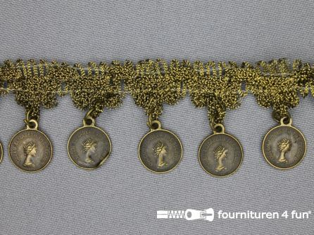 Muntenband 37mm brons