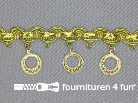 Muntenband 35mm goud