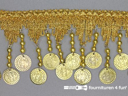 Muntenband 90mm goud