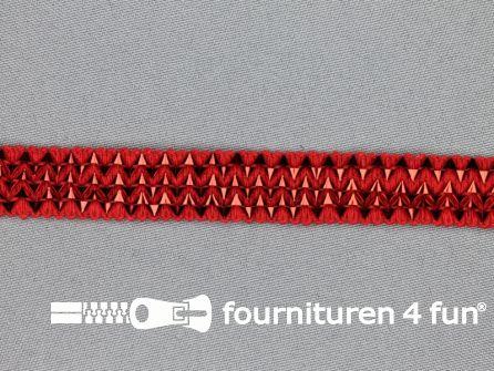 Bling bling band 16mm rood