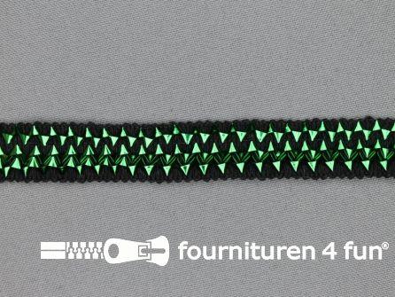 Bling bling band 16mm groen