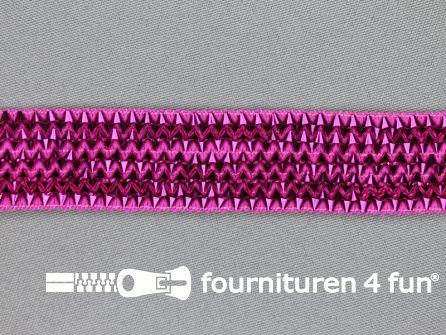 Bling bling band 25mm fuchsia roze