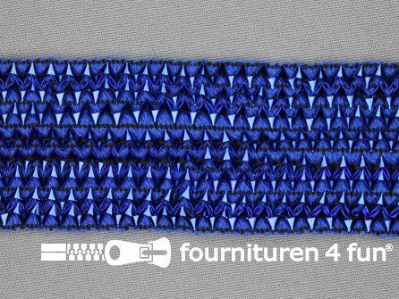 Bling bling band 40mm kobalt blauw