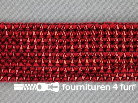 Bling bling band 40mm rood