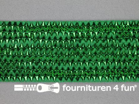 Bling bling band 40mm groen