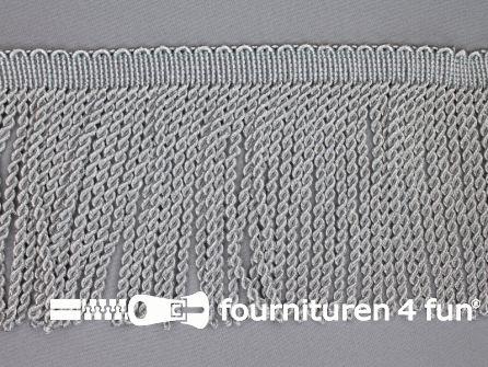 Zilver franje 150mm