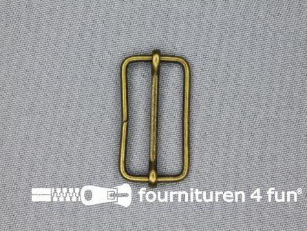 Schuifgesp 30mm brons