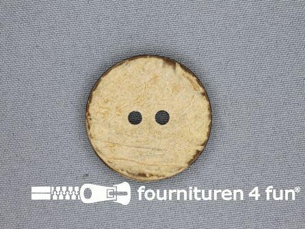 Kokos knoop 34mm naturel