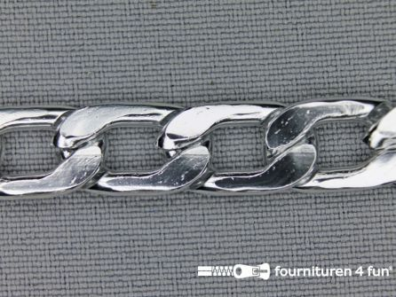 Ketting 10mm zilver