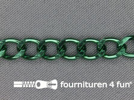 Ketting 7mm emerald groen