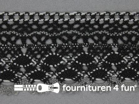 Kloskant 56mm zwart - grijs