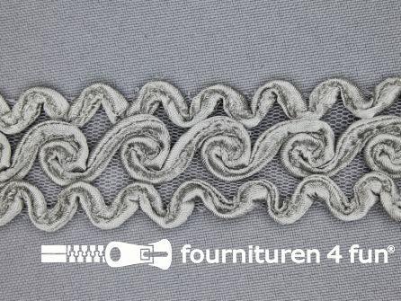 Design band 30mm grijs