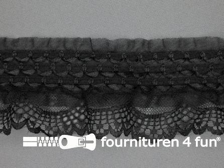 Elastisch kant 65mm zwart
