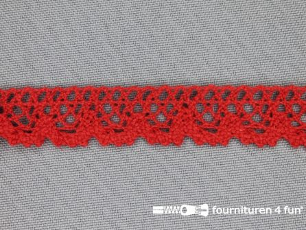 Ibiza broderie 16mm rood