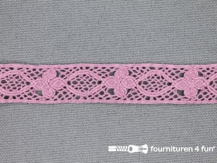 Ibiza broderie 13mm oud roze