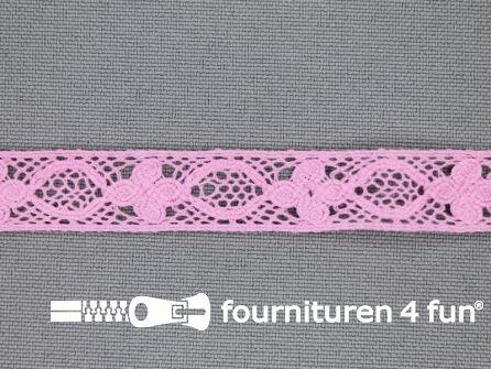 Ibiza broderie 13mm barbie roze
