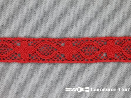Ibiza broderie 13mm rood