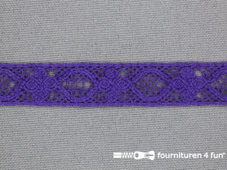 Ibiza broderie 13mm paars