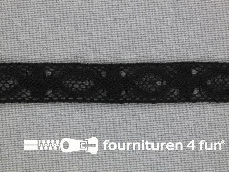 Ibiza broderie 13mm zwart