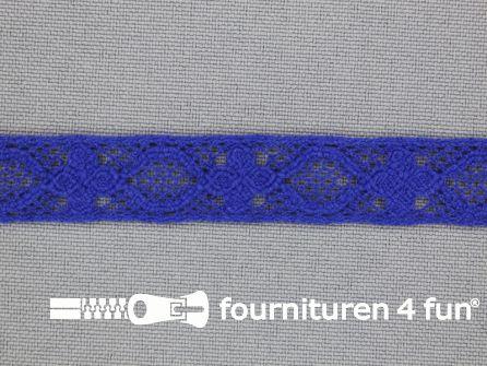 Ibiza broderie 13mm kobalt blauw