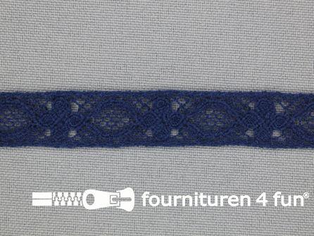 Ibiza broderie 13mm donker blauw